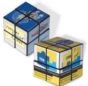 Overseas 4-Panel Mini Cube With Custom Logo