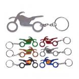 Motorcycle Bottle Opener Keychain