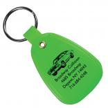Full Color Saddle Key Tag