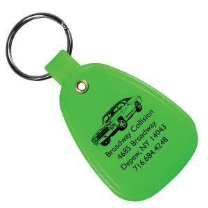 Full Color Saddle Key Tag