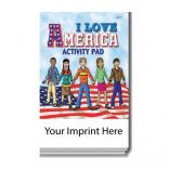 """I Love America"" Activity Pad"