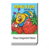 """Spring Is Fun"" Activity Pad"