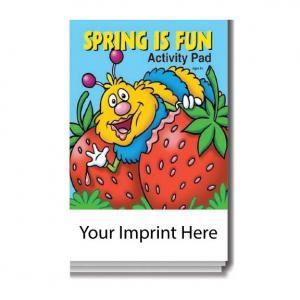 """Spring Is Fun"" Activity Pad"