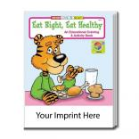 """Eat Right, Eat Healthy"" Coloring Book"