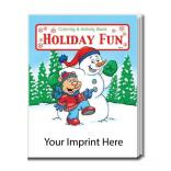 """Holiday Fun"" Coloring Book"