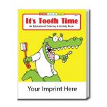 """It's Tooth Time"" Coloring Book"