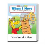 """When I Move"" Coloring Book"