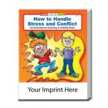 """How To Handle Stress And Conflict"" Coloring Book"