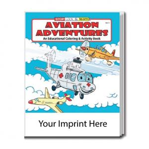"""Aviation Adventures"" Coloring Book"