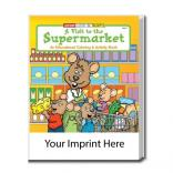 """A Visit To The Supermarket"" Coloring Book"