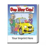 """Our New Car!"" Coloring Book"
