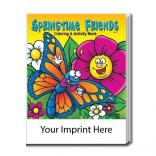 """Springtime Friends"" Coloring Book"