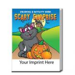 """Scary Surprise"" Halloween Coloring Book"