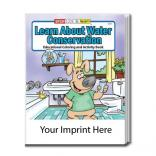 """Learn About Water Conservation"" Coloring Book"