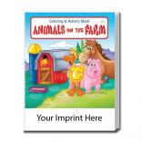 """Animals On The Farm"" Coloring Book"