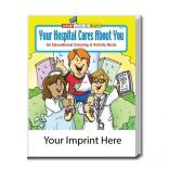 """Your Hospital Cares About You"" Coloring Book"