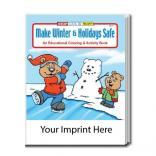 """Make Winter And Holidays Safe"" Coloring Book"