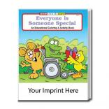 """Everyone Is Someone Special"" Coloring Book"