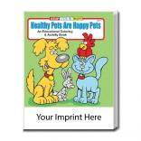"""Healthy Pets Are Happy Pets"" Coloring Book"