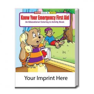 """""""Know Your Emergency First Aid"""" Coloring Book"""