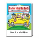 """Practice School Bus Safety"" Coloring Book"