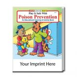 """Play It Safe With Poison Prevention"" Coloring Book"
