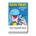 """Ocean Friends"" Activity Pad"