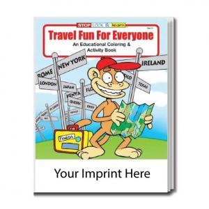 """Travel Fun for Everyone"" Coloring Book"