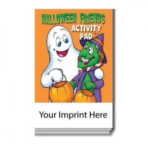 """Halloween Friends"" Activity Pad"