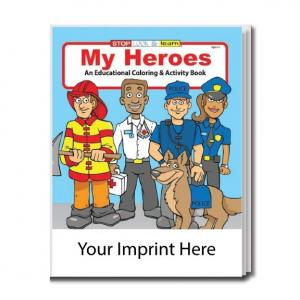 """My Heroes"" Coloring Book"