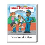 """Crime Prevention"" Coloring Book"
