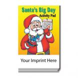 """Santa's Big Day"" Activity Pad"