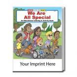 """We Are All Special"" Coloring Book"
