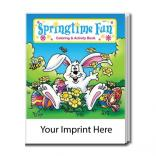 """Springtime Fun"" Coloring Book"