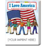 """I Love America"" Coloring Book"