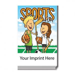 """Sports Fun"" Activity Pad"