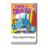 """Tons of Trucks"" Activity Pad"