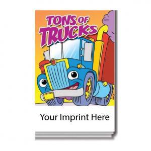 """Tons of Trucks"" Activity Pad"