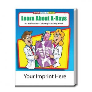 """Learn About X-Rays"" Coloring Book"