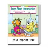 """Learn About Immunization"" Coloring Book"