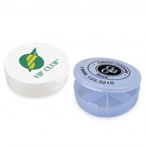Round Pocket Pill Box