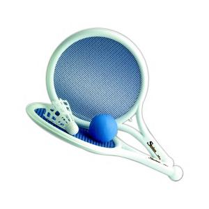 Mesh Paddle Ball and Birdie Shuttlecock Game