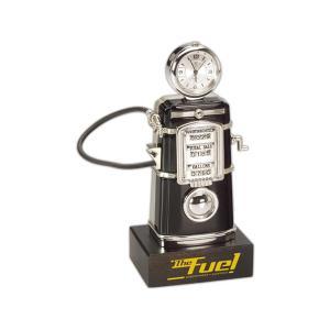 Fuel Gas Pump Desktop Award Clock