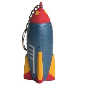 Rocket Stress Reliever Keychain