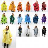 Disposable Logo Rain Poncho