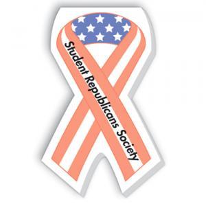 Patriotic Ribbon Scratch Pad