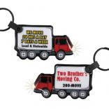 Garbage Truck Shaped Key Tag Light
