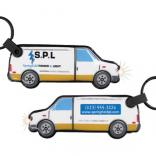 Van Shaped Key Tag Light