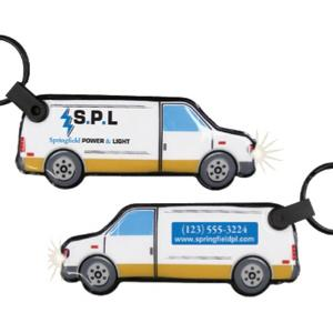 Van Shaped Key Tag Light