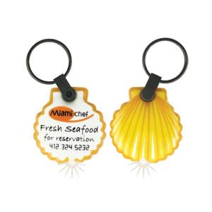 Sea Shell Shaped Key Tag Light